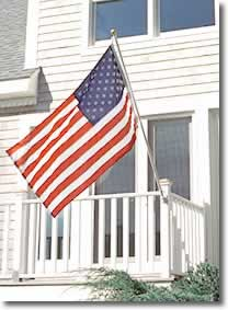 Residential House Mounted Flagpole