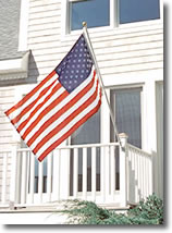 House Mounted Flagpoles