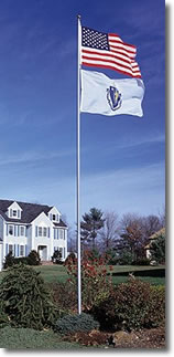 Telescoping Outdoor Flagpoles