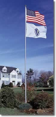 20 Foot Telescoping Flagpole